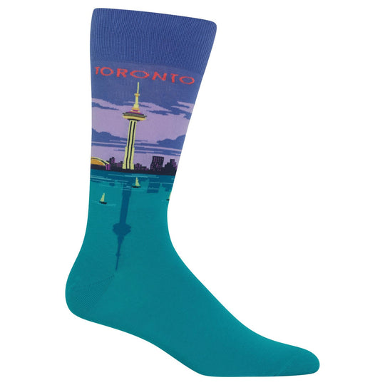 Hot Sox Mens Toronto Socks