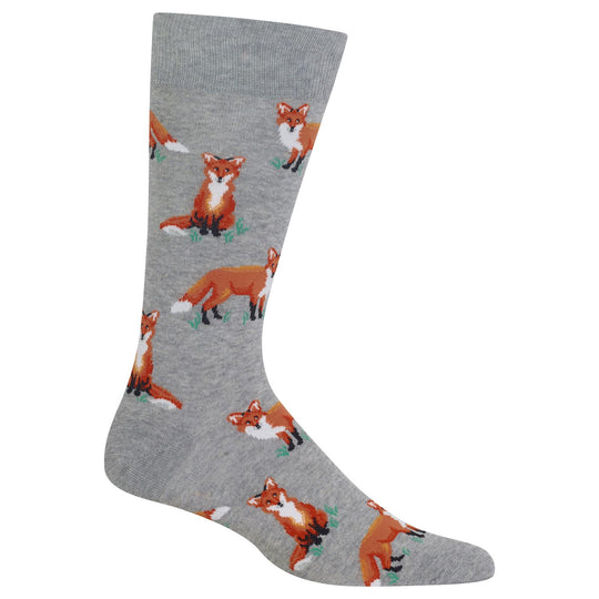 Hot Sox Mens Foxes Socks