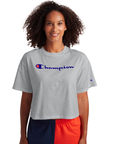 Champion Womens Cropped Tee