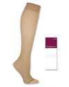 Hanes Silk Reflections Women's Lasting Sheer Toeless Knee Highs w/ No Slip Band 2 Pair