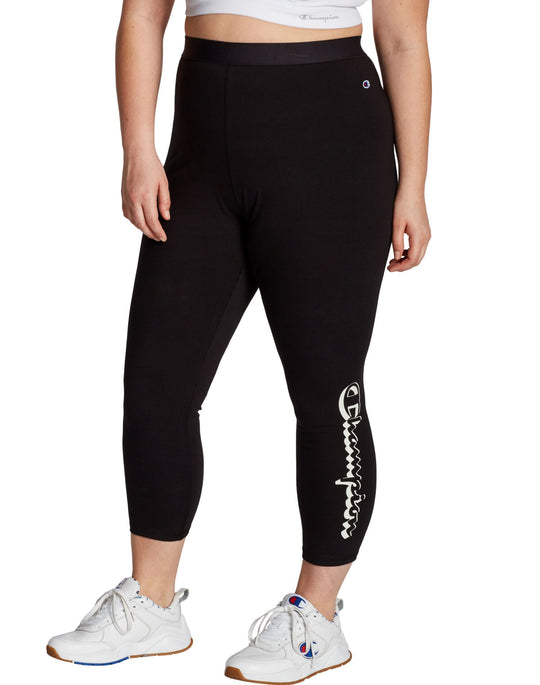 Champion Womens Plus Authentic 7/8 Tight