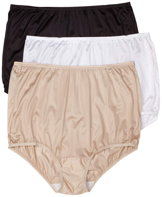 Vanity Fair Womens Perfectly Yours Ravissant Full Brief 3-Pack