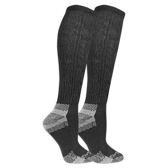 Dr. Scholls Womens Diabetes and Circulatory Advanced Relief 2-Pair Knee High Socks