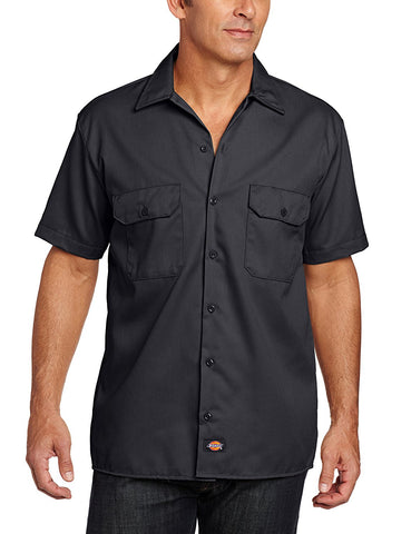 Dickies Mens Short-Sleeve Work Shirt