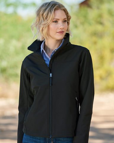 Weatherproof Womens Soft Shell Jacket W6500, XL, Black