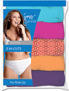 JMS Cotton Tagless Hi-Cut Panties 5-Pack
