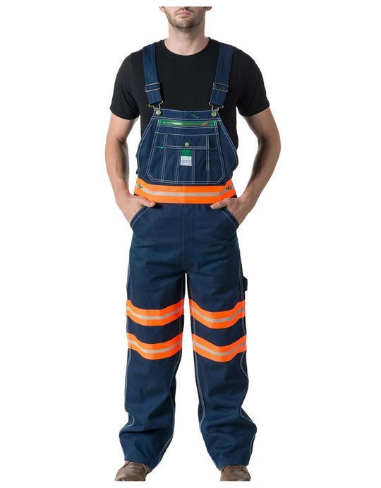 Liberty Mens Bib Overall with Hi-Vis Tape