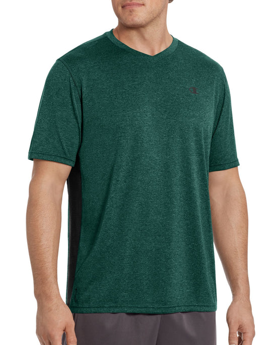 Champion Vapor Men's Heather V-Neck Tee