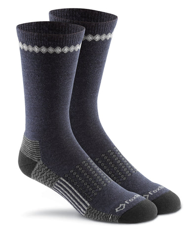 Fox River Adult Carbon Lightweight Merino Wool Crew Sock