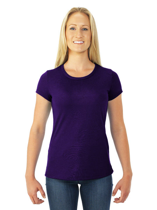 Jerzees Womens DRI-POWER Sport Short Sleeve Crew T-Shirt