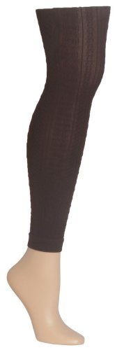 MeMoi Women`s Footless Textured Tights