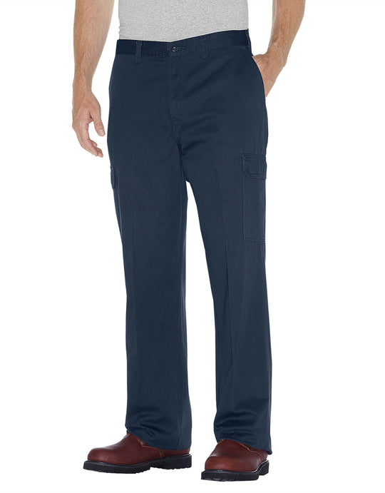 Dickies Mens Loose Fit Straight Leg Cargo Pants