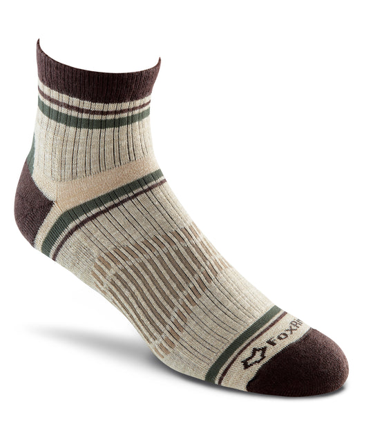 Fox River Ridgeline Men`s Lightweight Crew Quarter Socks