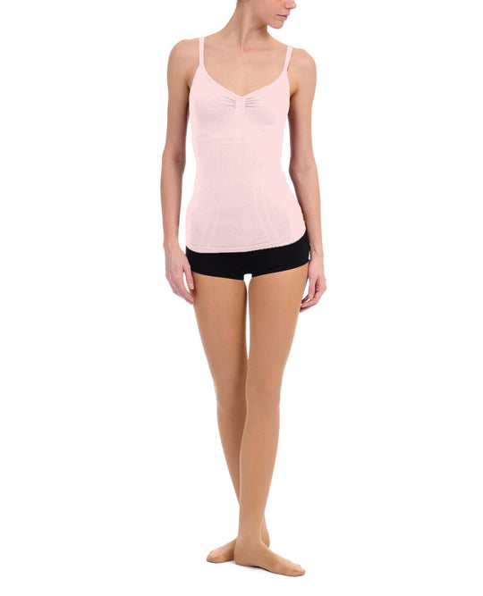 Danskin Women`s Seamless Adjustable-Strap Dance Camisole Top
