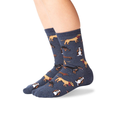 Hot Sox Kids Classic Dogs Crew Socks