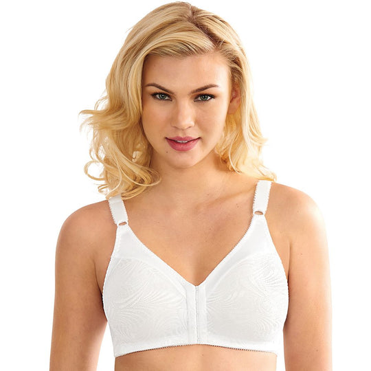Bali Womens Double Support Front Close Wirefree Bra