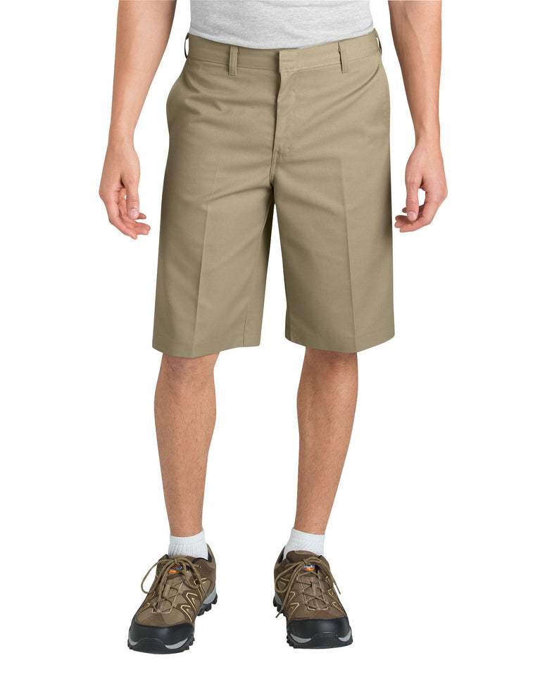 Dickies Boys Adult Sized Classic Fit Flat Front Shorts