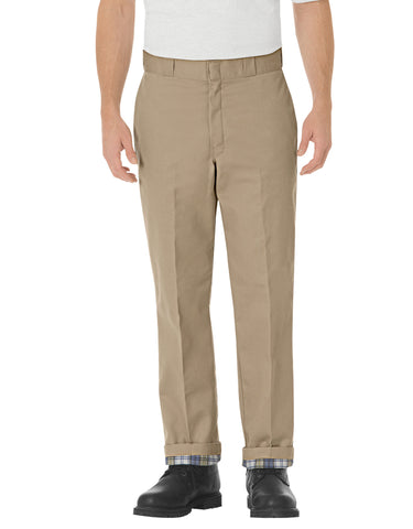 Dickies Mens Relaxed Fit Flannel Lined Work Pants