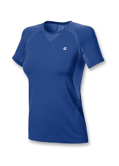 Champion Double Dry Seamless Vented Women's T Shirt