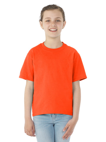 Jerzees Youth DRI-POWER Active Short Sleeve Crew T-Shirt