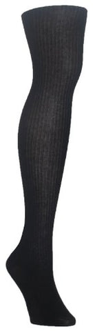 MeMoi Women`s Merino Wool Tencil Rib Tights