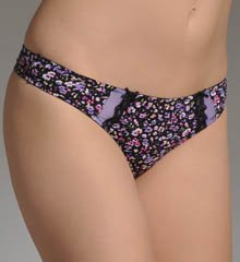 Barely There Women's Go Girlie Ultra Light Microfiber Thong