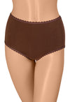 Gemsli Ultra Comfort Cotton Briefs, Solid Color, 3 Pair Pack