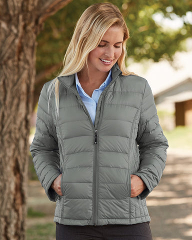 Weatherproof Womens 32 Degrees Packable Down Jacket 15600W, XL, Classic Navy