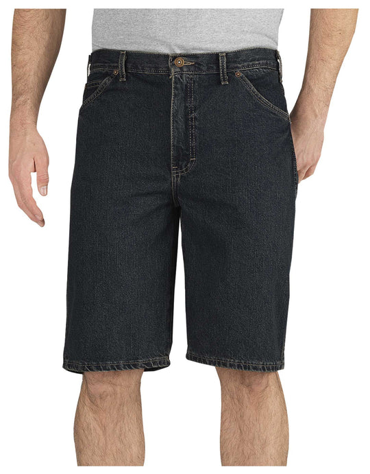 "Dickies Mens 11"" Regular Fit 6-Pocket Denim Shorts"