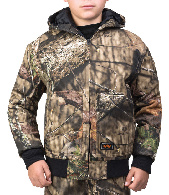 Walls Boys Hunting Insulated Hooded Jacket