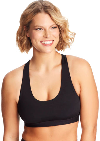 Maidenform Womens Sporty Racerback Sports Bra