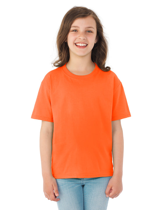 Fruit Of The Loom Youth HD Cotton Short Sleeve Crew T-Shirt