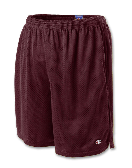 Champion Men's Long Mesh Shorts with Pockets