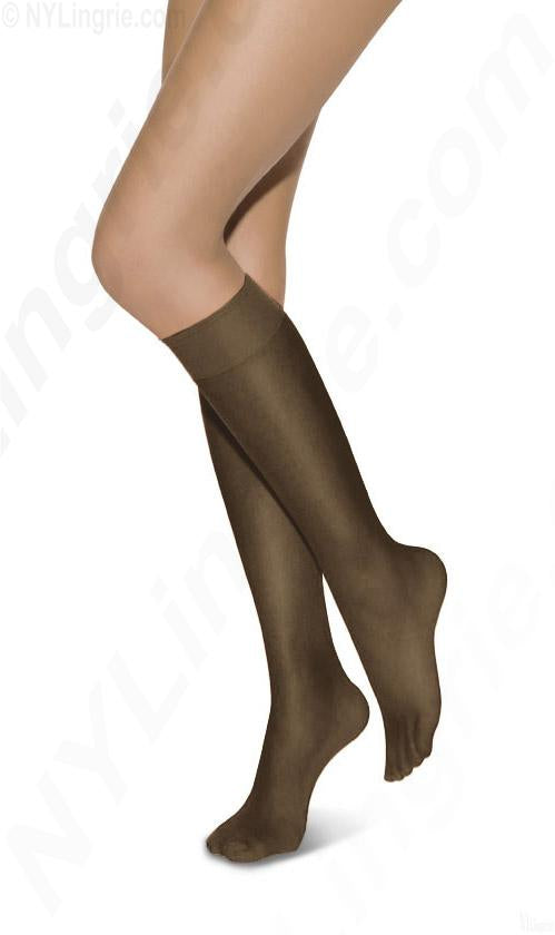 L'eggs Everyday Knee Highs Reinforced Toe 10 Pair
