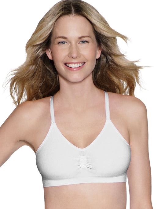 Hanes ComfortFlex Fit Active Leisure Pullover Wirefree Bra 2 Pack