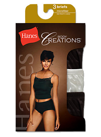 Hanes Body Creations Microfiber Brief
