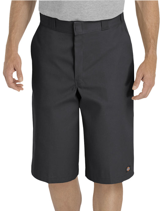 "Dickies Mens 15"" Loose Fit Multi-Use Pocket Work Shorts"