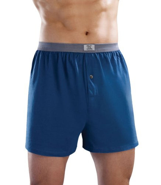 Fruit of the Loom Men`s 5pk Soft Stretch Assorted Knit Boxer