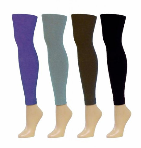 MeMoi Women`s Winter Fleece Footless Tights