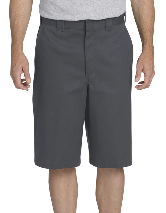 "Dickies Mens 13"" FLEX Loose Fit Multi-Use Pocket Work Shorts"