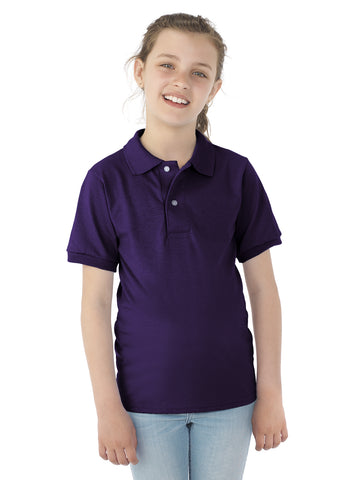 Jerzees Youth SpotShield Short Sleeve Jersey Sport Shirt