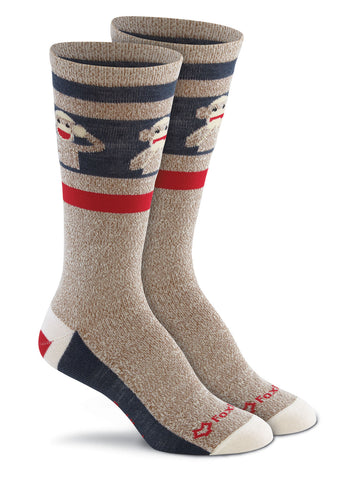 Fox River Adult Monkey See Ultra-Lightweight Crew Sock