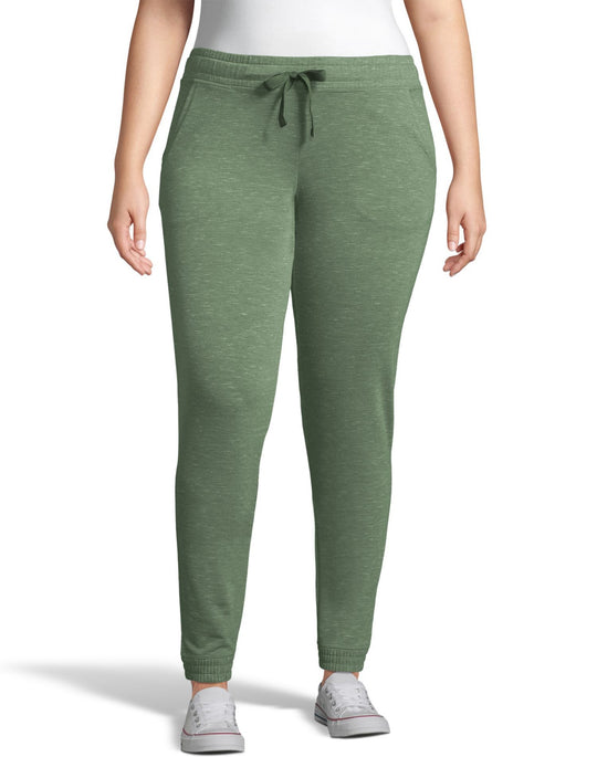 Hanes Womens French Terry Jogger with Pockets
