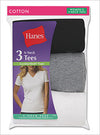 Hanes Women's Jersey V-Neck Tee - 3 Pack