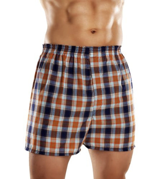 Fruit of the Loom Men`s 5pk Assorted Tartan Boxers