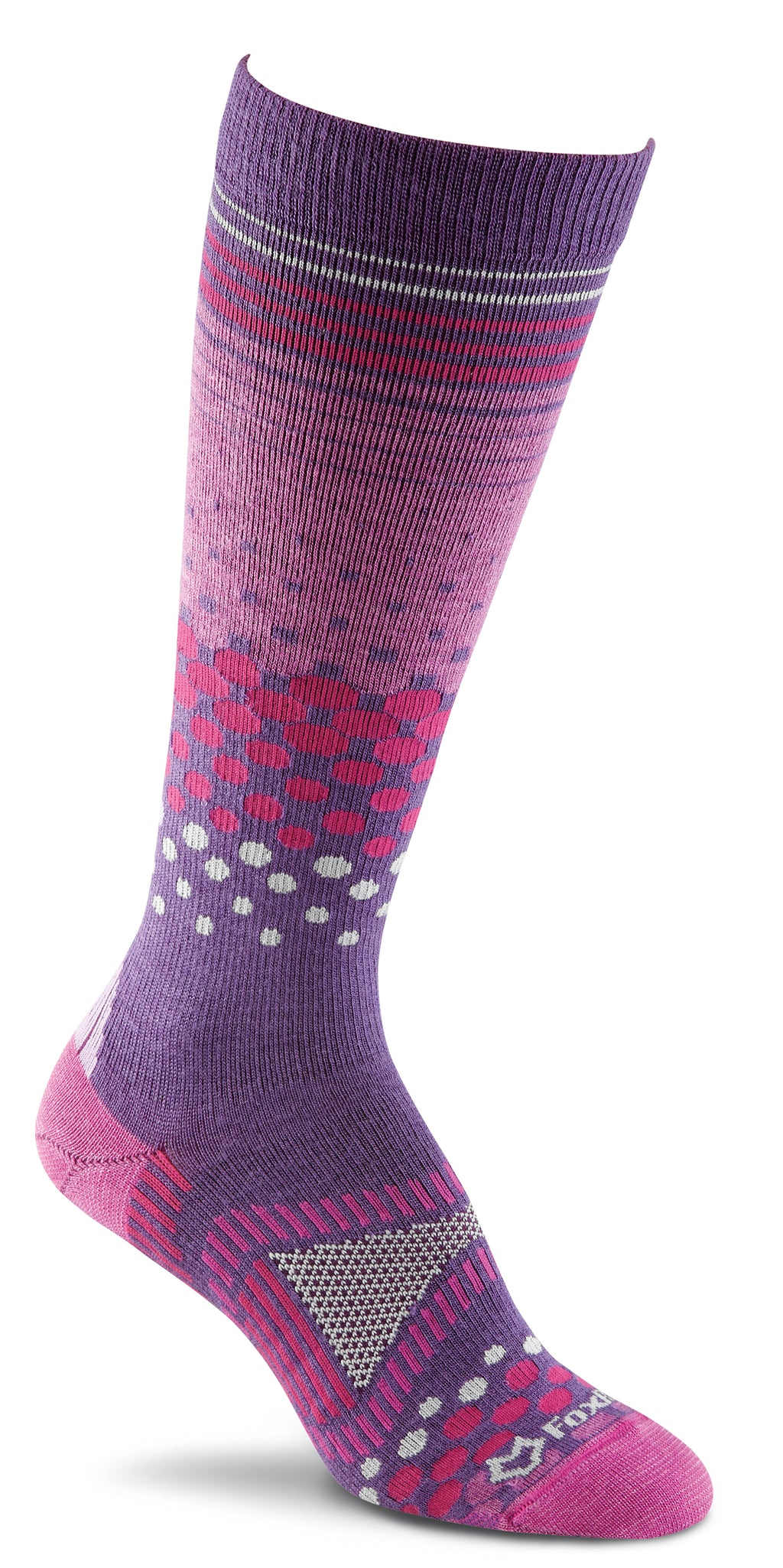 Fox River Tremblant Women`s Cold Weather Ultra-lightweight Over-the-calf Socks