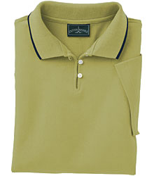 Outer Banks Women's Eco-Fiber Polo with Bold Stripe