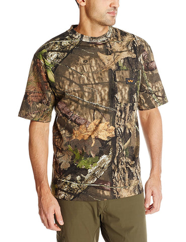 Walls Mens Hunting Short Sleeve Pocket T-Shirt