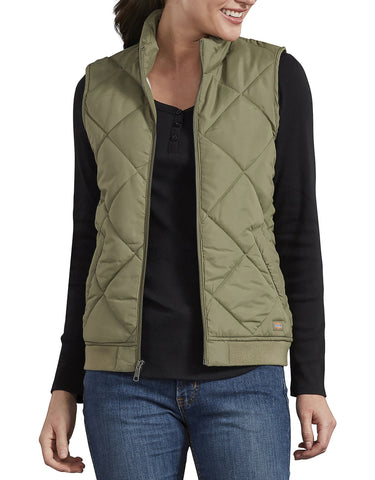 Dickies Womens Quilted Vest