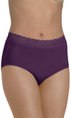 Barely There We've Got You Covered Microfiber w/ Lace Modern Brief 2-Pk